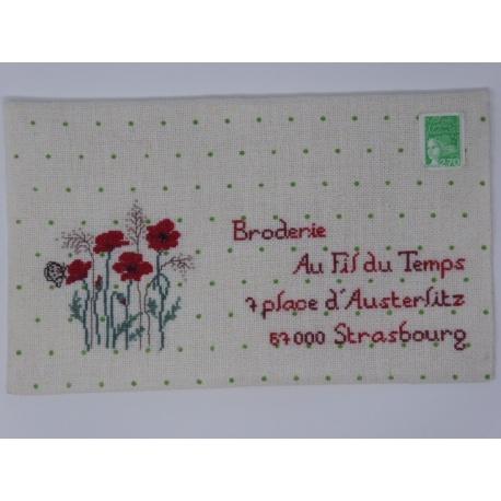 L'art postal - août
