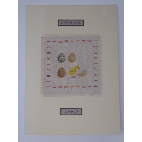 Les cahiers de cuisine - Les œufs