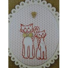 Le couple de chats