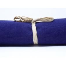 Tissu uni bleu: coupon 50 X 70 cm