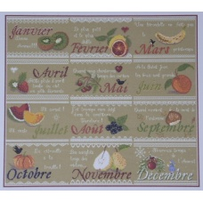 Le calendrier aux fruits