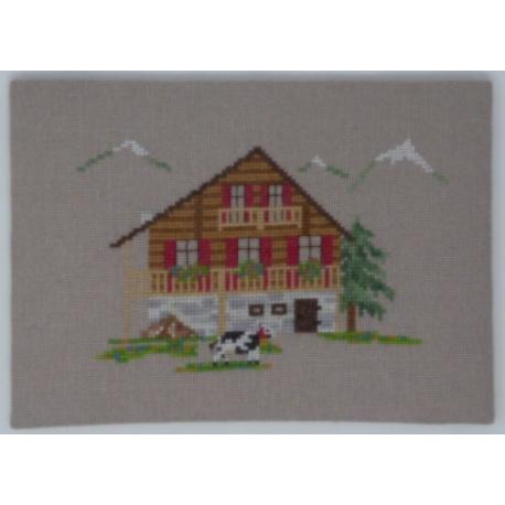 Maisons d'ici et d'ailleurs - Les Alpes