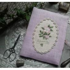 Porte Ciseaux au bouquet d'églantine