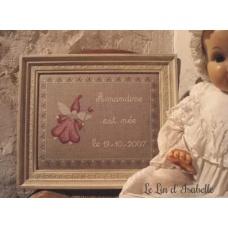 Tableau de naissance Petite Fée