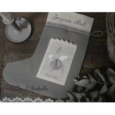 "Botte de Noël ""Angelot Lapin"""