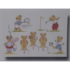Les oursons sportifs