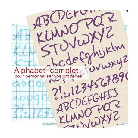 Alphabet Complet Cl000 Signé Lilipoints