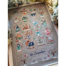 Shabby Winter Calendar