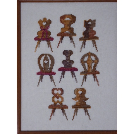 Chaises alsaciennes