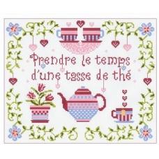 Prendre le temps d'une tasse de thé
