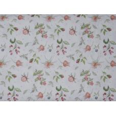 Tissu Recueil de Fleurs :  coupon 50 X 75 cm