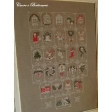 Shabby Advent Calendar