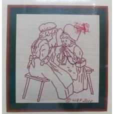 Alsace Lorraine Les tricoteuses