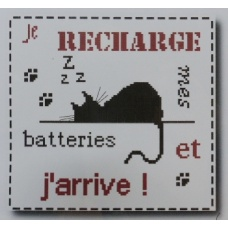 Je recharge mes batteries et j'arrive