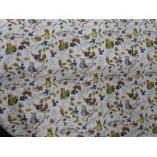 Tissu  Les souris des haies :  coupon 50 X 75 cm