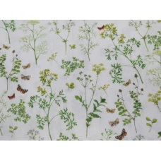 Tissu Herbes de prairie :  coupon 50 X 75 cm