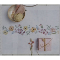 Chemin de Table Couronne de Fleurs d'été (kit 67473.52.18)