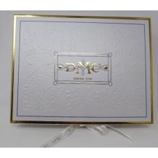 Coffret échevette DMC or 24 carats