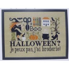 Halloween ? Je peux pas, j'ai broderie !
