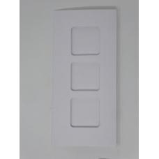 Carte 3 fenêtres - Blanc