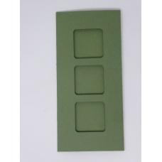 Carte 3 fenêtres - Vert