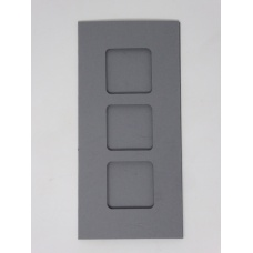 Carte 3 fenêtres - Gris