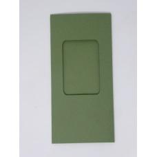 Carte à fenêtre rectangle - Vert