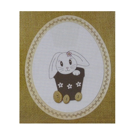 Lapin de Pâques - BROD027