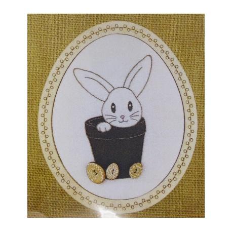 Lapin de Pâques - BROD026