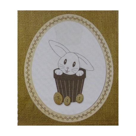 Lapin de Pâques - BROD028