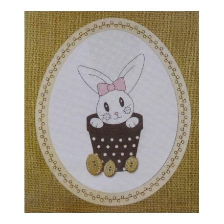 Lapin de Pâques - BROD029