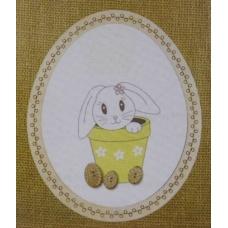 Lapin de Pâques - BROD022