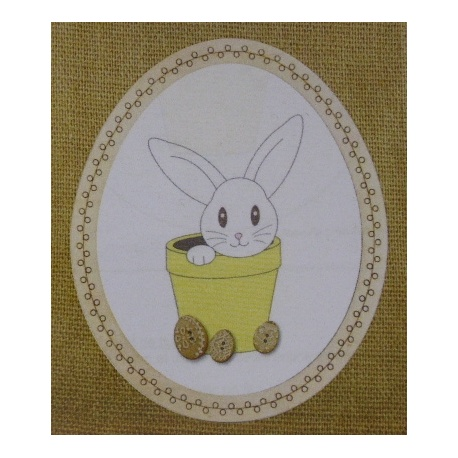 Lapin de Pâques - BROD021