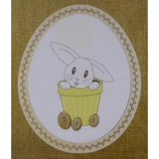 Lapin de Pâques - BROD023