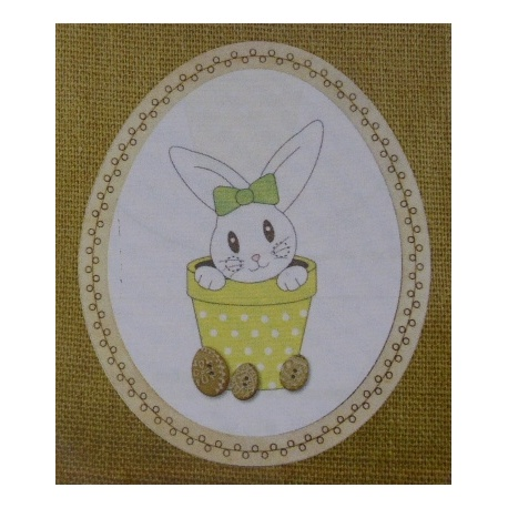 Lapin de Pâques - BROD024