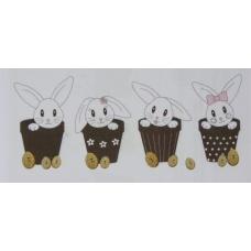 Lapin de Pâques - BROD030