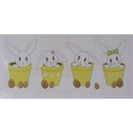 Lapin de Pâques - BROD025