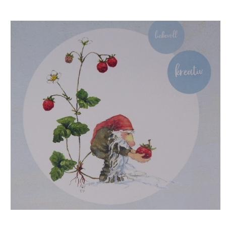 Lutin et fraises (fiche)
