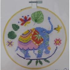 Eléphant bleu (kit)