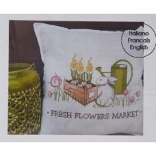Fresh flowers market