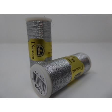 Fil DMC métallisé - diamant D415