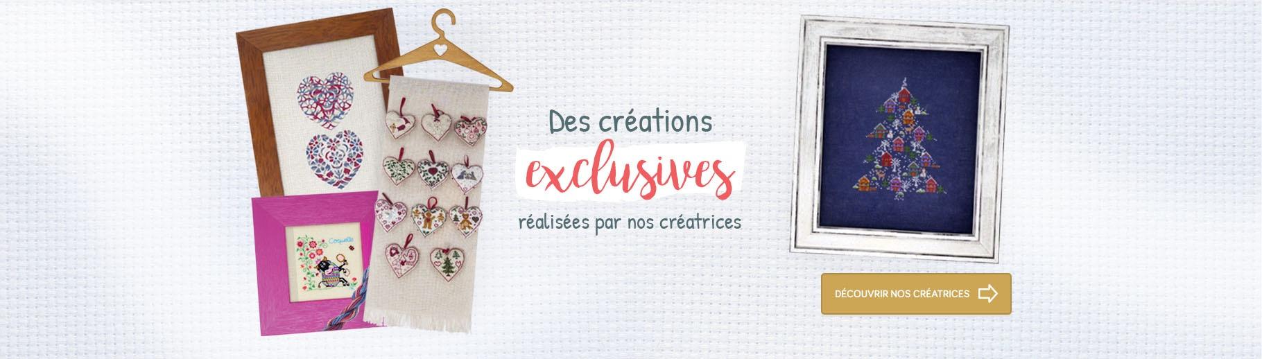 Des créations exclusives